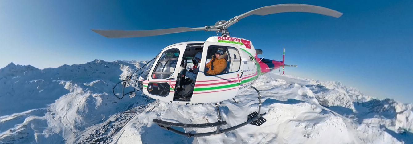 Alpski bus val thorens webcam